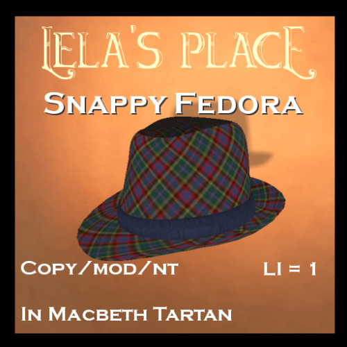FedorasLelasPlaceMacbethTartan