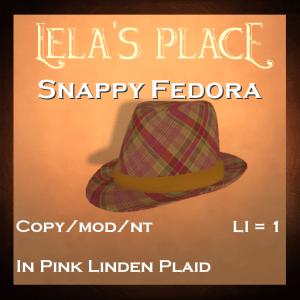FedorasLelasPlacePinkLindenPlaid