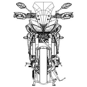 Yamaha MT-09 Tracer Design