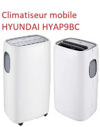 Climatiseur mobile HYUNDAI HYAP9BC