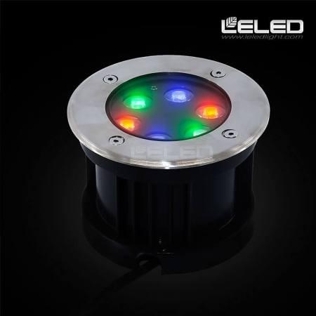 Multi Color LED Inground Light RGB ip67 cree chip