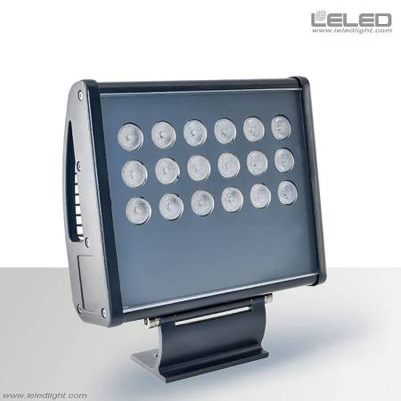 أضواء الفيضانات LED عالية الطاقة RGB لبناء لون خارجي تغيير