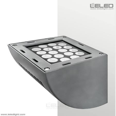 LED wall lights with projector wall landscape lighting