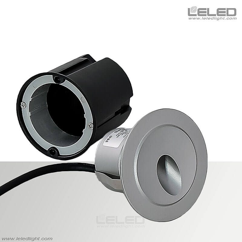 Round Recessed Wall Light Fixtures Outdoor For Washer