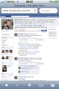 Facebook-Safari