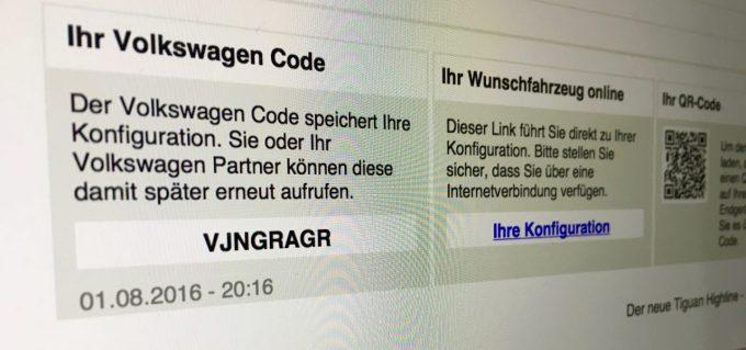 VW Code