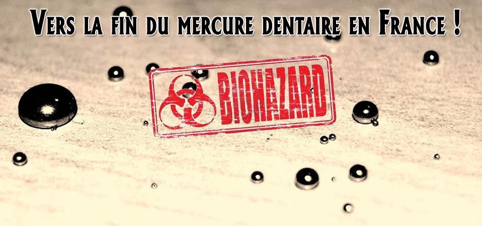 Vers la fin du mercure dentaire en France !