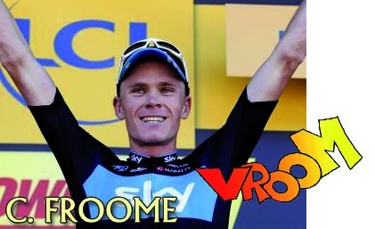 Le scooter Froome fait vroom