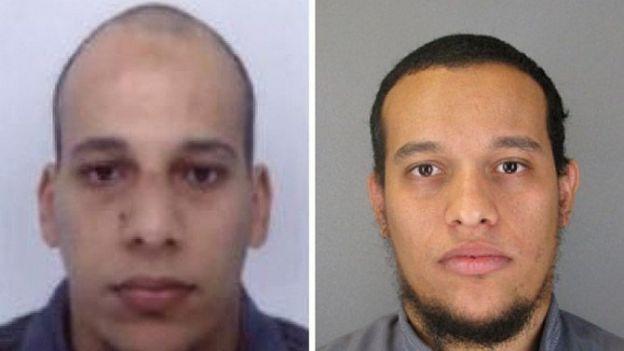 Charlie Hebdo :  Saïd Kouachi, Chérif Kouachi les tueurs de Charlie Hebdo