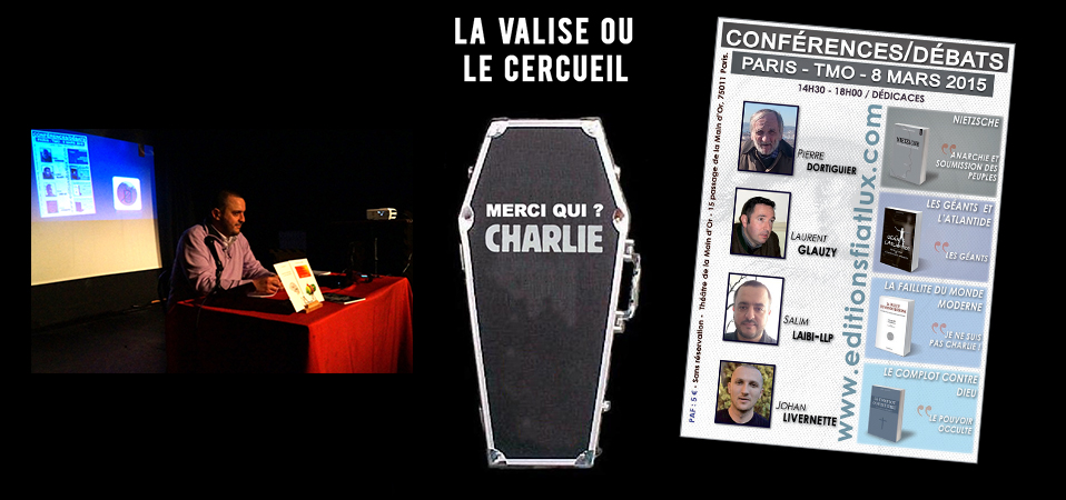 Rappel : «La valise ou le cercueil» suite aux attentats de «Charlie hebdo»