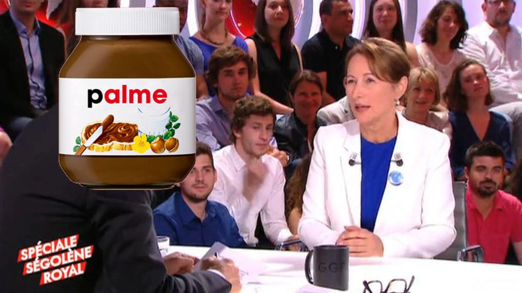 Ségolène Royal : «il faut arrêter de manger du nutella»