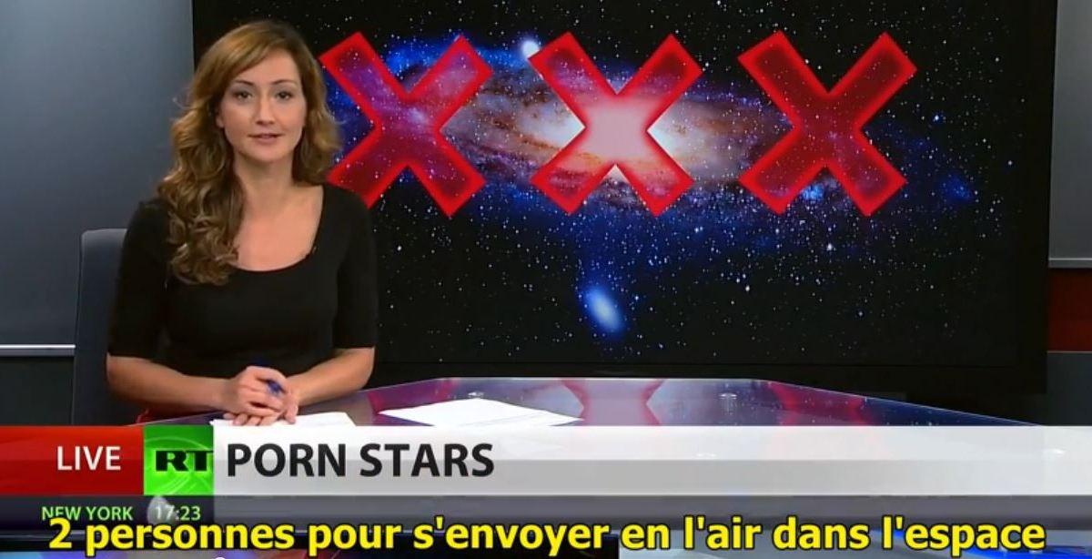 Modernité et progrès : du porno dans l'espace !