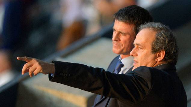 Surprise : Valls a « confiance » en Platini, futur patron de la mafia FIFA