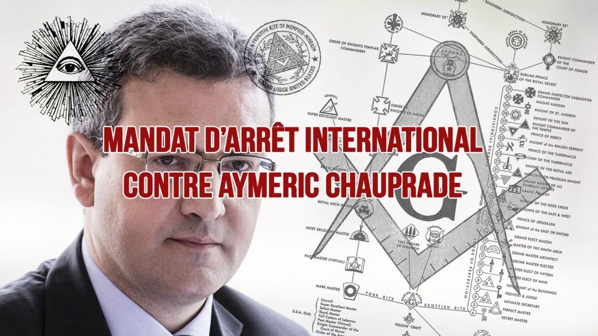 Air Cocaïne : mandat d'arrêt international contre Aymeric Chauprade