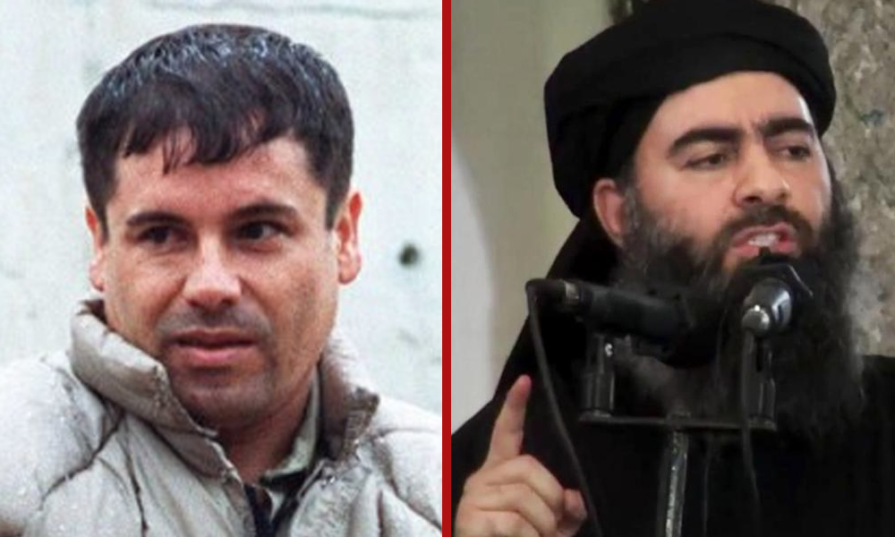 Humour : «El Chapo» menace Daech !