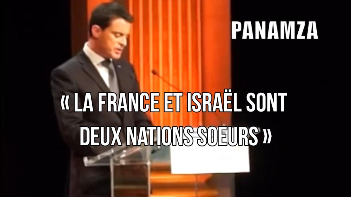 Manuel Valls : «La France et Israël sont 2 nations sœurs»