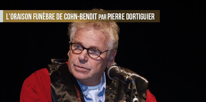 L'oraison funèbre de Cohn-Bendit par P. Dortiguier