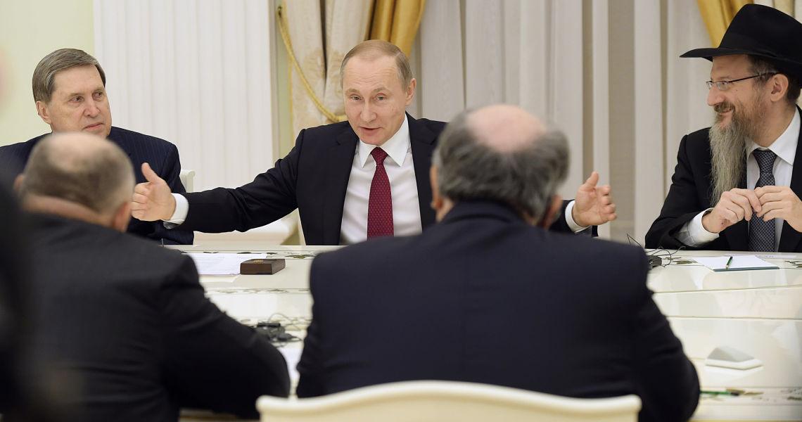 « Venez chez nous » : Vladimir Poutine invite les Juifs européens insécurisés à immigrer en Russie !