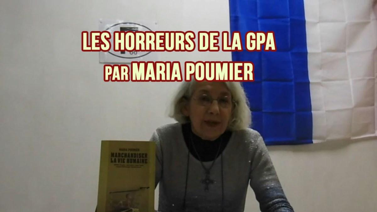 Les horreurs de la GPA par Maria Poumier