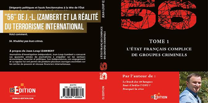 Lecture explosive + Conférence : «56» de J.-L. Izambert et la réalité du terrorisme international