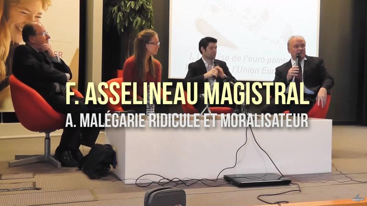 Revoir : comment F. Asselineau humilie une caricature européiste !