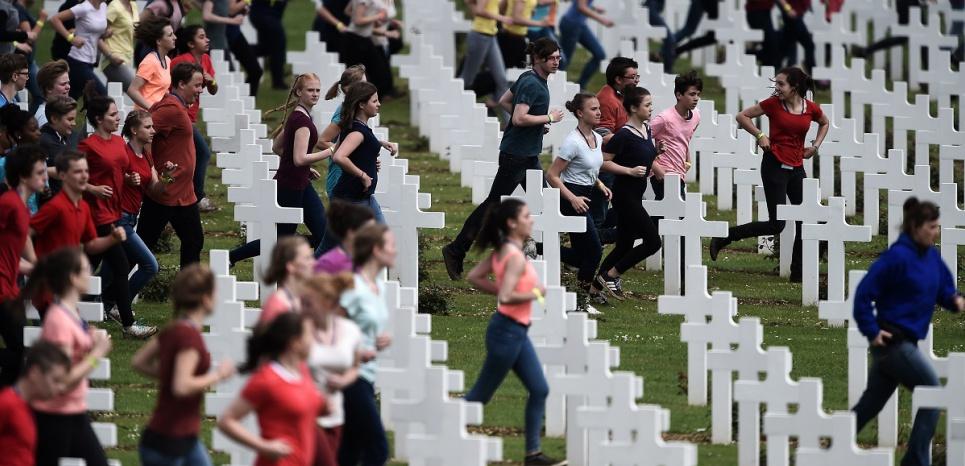 Courir dans un cimetière ou comment insulter la mémoire des morts de Verdun !