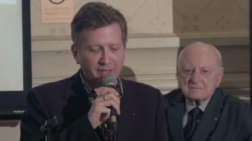 Stéphane Blet et Pierre Bergé