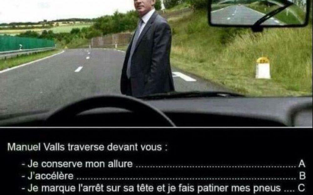 Esprit Charlie : viré pour avoir partagé sur le web un cliché anti-Valls !