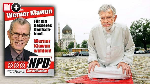 À 75 ans, le député allemand d'extrême-droite Werner Klawun se convertit à l'islam