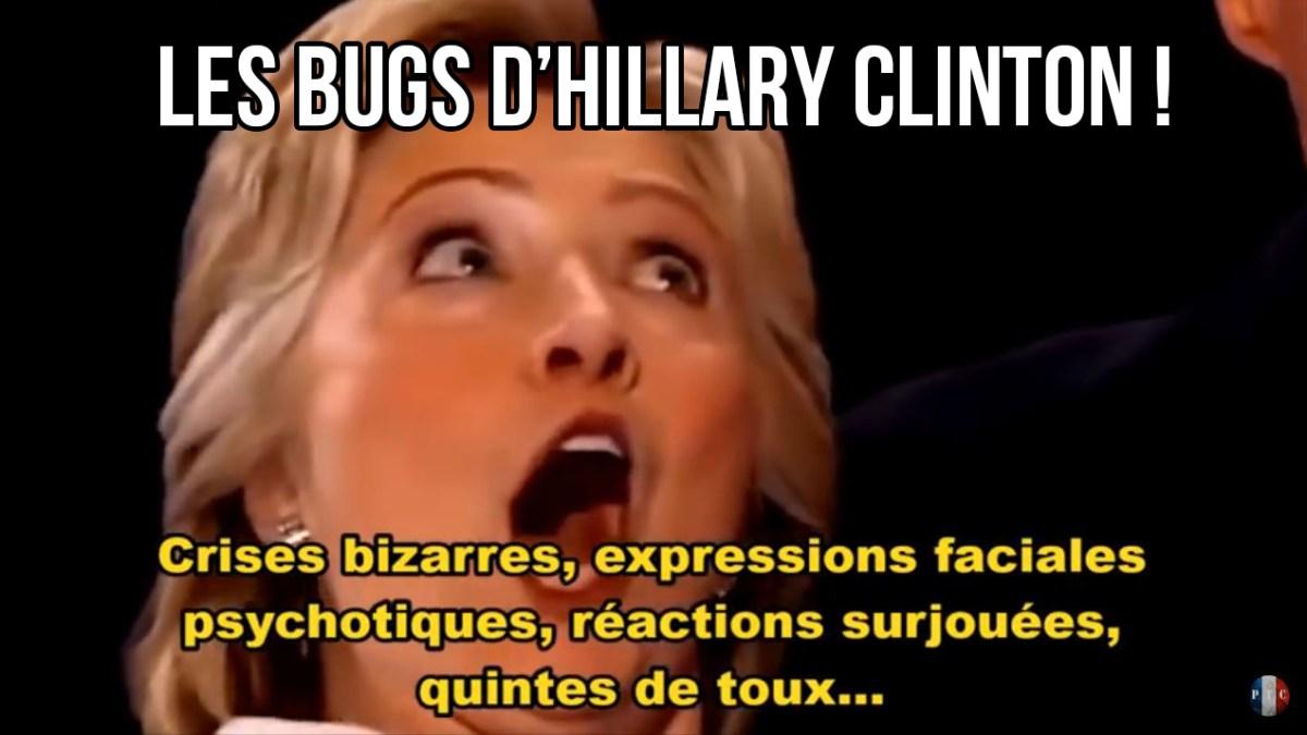 Les bugs bizarres de Hillary Clinton !