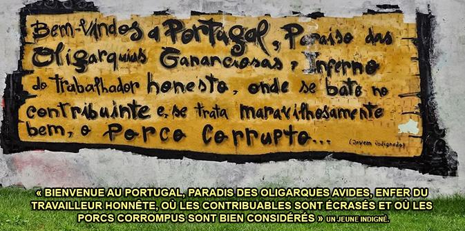 Le Portugal, de nouveau au bord du désastre par la rédaction de l'UPR