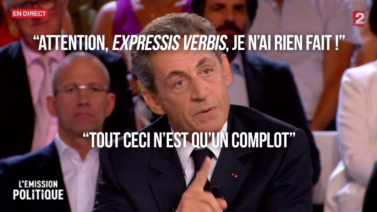 Affaire Bygmalion : la défense bancale de Nicolas Sarkozy dans «L'Émission politique»