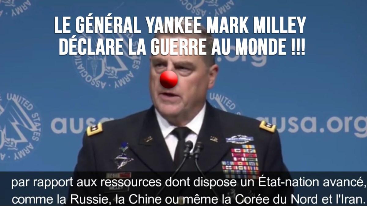 Guerre mondiale imminente : les menaces du chef d'état-major US, Mark Milley, à la Russie, la Chine et l'Iran