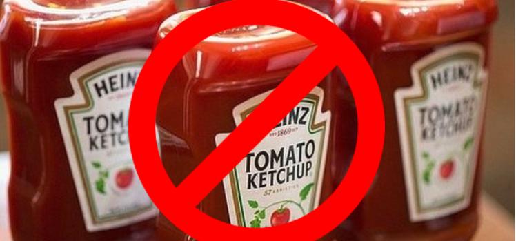 Le ketchup contient du mercure !