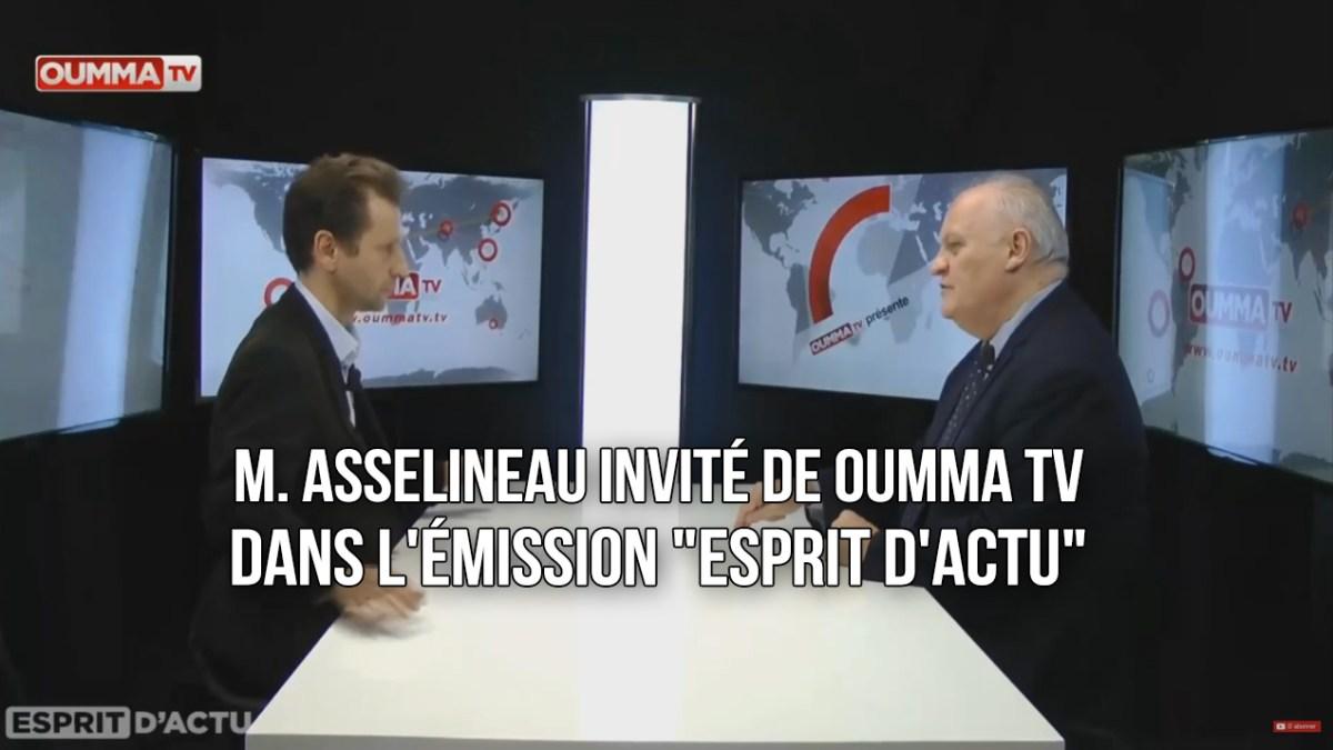 François Asselineau invité de OUMMA TV