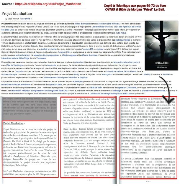 projet-manhattan-plagiat-morgan-priest-ovnis-bible