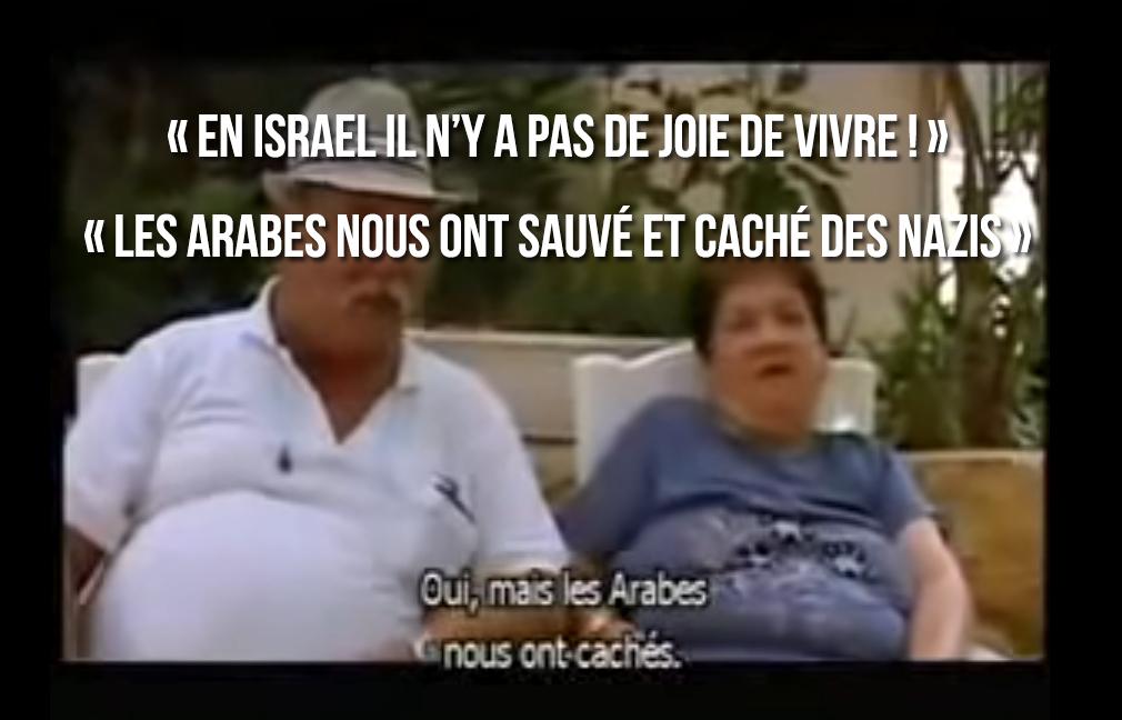 Tout ça pour ça : «Les Arabes nous ont sauvés des nazis» dixit des familles juives !