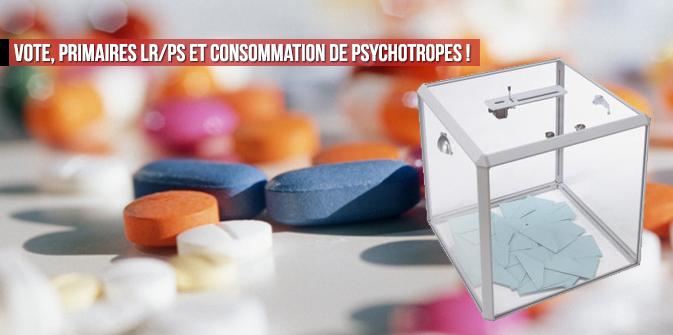 Eureka : vote, primaires LR/PS et consommation de psychotropes !