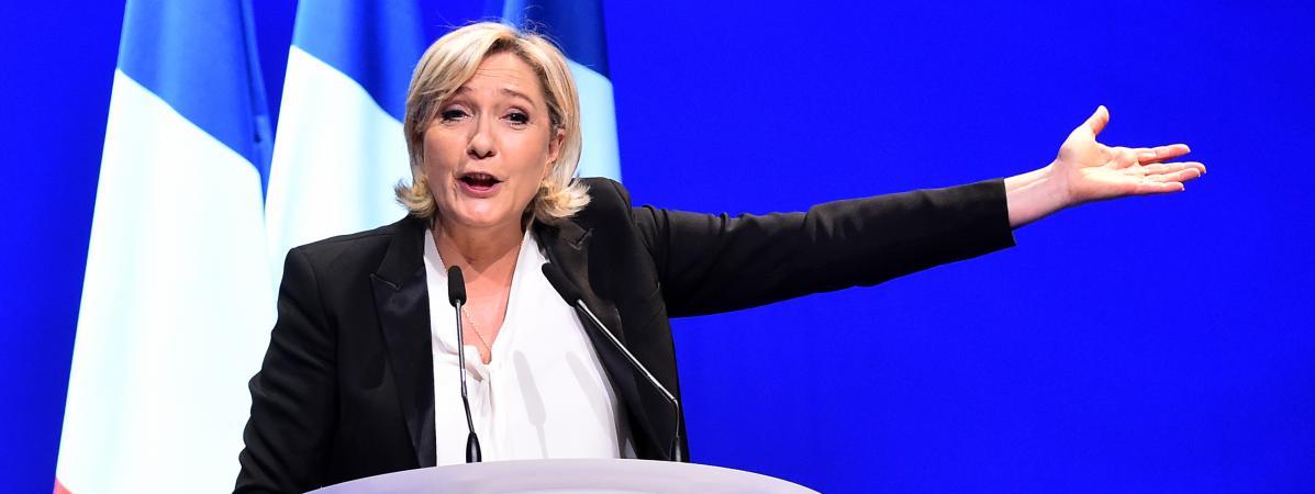 Marine Le Pen menace les magistrats qui instruisent ses affaires !!!