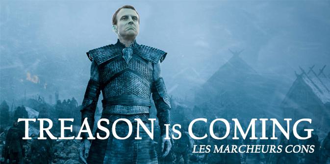 Macron et ses marcheurs cons !