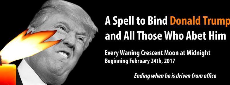 Des «sorciers» se donnent rendez-vous à New York pour jeter un sort à Trump !