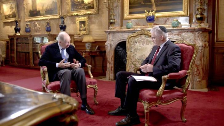 Lord Rothschild explique comment sa famille a créé Israël
