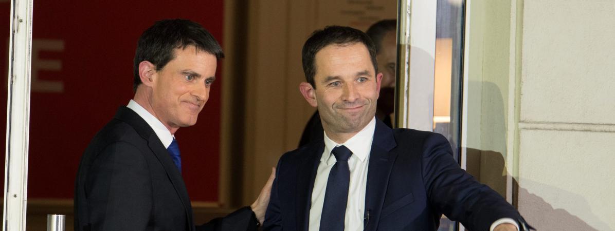Parjure : comment Manuel Valls a pris ses distances avec Benoît Hamon !