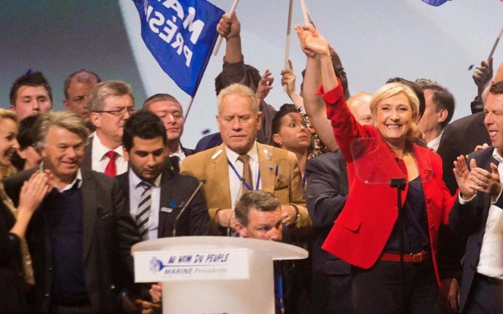 Présidentielle : Marine Le Pen cogne dur sur l'immigration