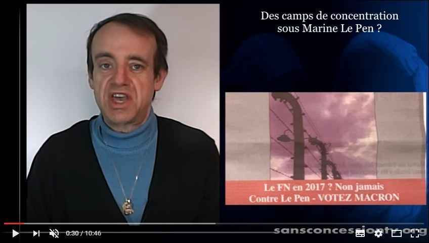 Au fou ! Vincent Reynouard veut ouvrir des camps de concentration !