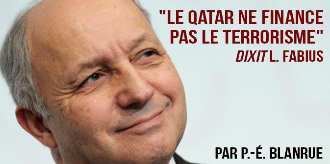 «Le Qatar ne finance pas le terrorisme» dixit Laurent Fabius