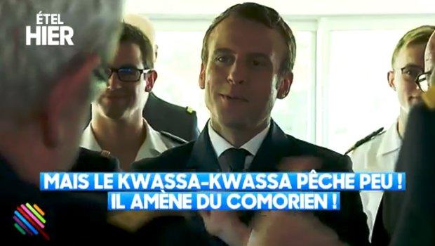 Plaisanterie minable de Macron sur les « kwassa-kwassa », elle en pense quoi Mme Sibeth Ndiaye ?