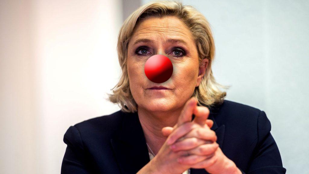 #GiletsJaunes : Marine Le Pen ne veut pas d'un renversement de la Ve République !