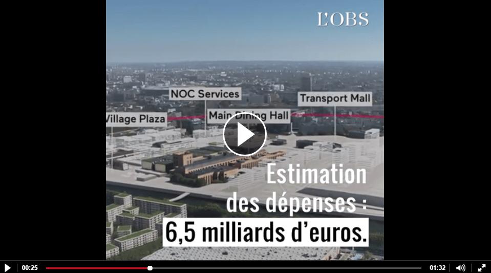 JO 2024 à Paris : «L'organisation des JO est toujours un gouffre financier»