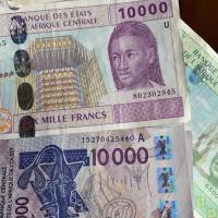 le franc CFA : (CEMAC) / (UEMOA)